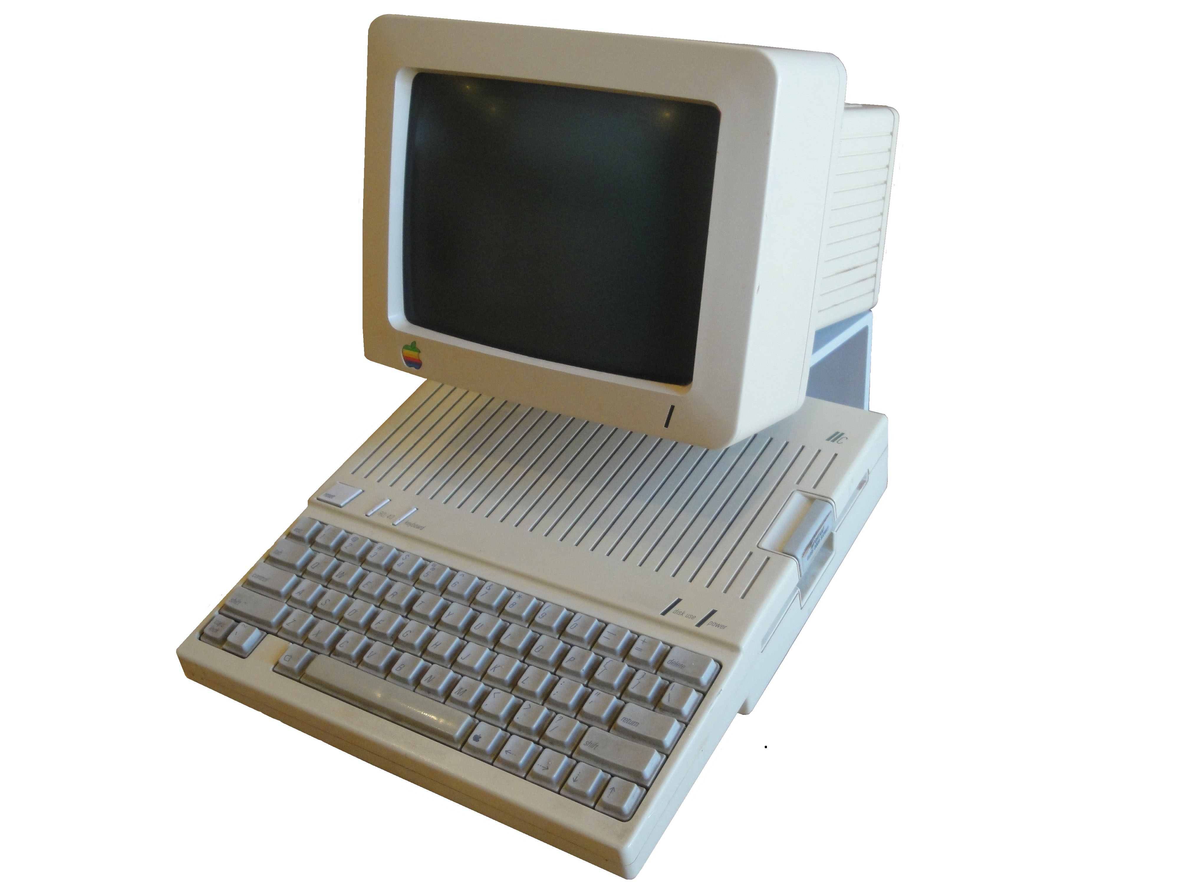 Apple Computer 1984 Apple Iic 1984